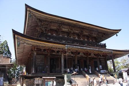 世界遺産 金峯山寺蔵王堂