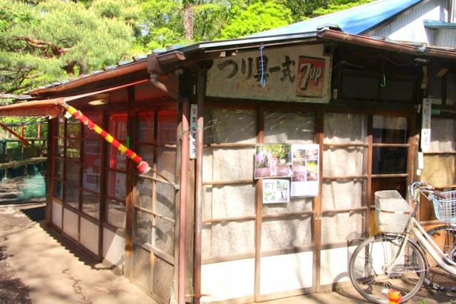 石神井公園内は指定地域以外は釣り禁止
