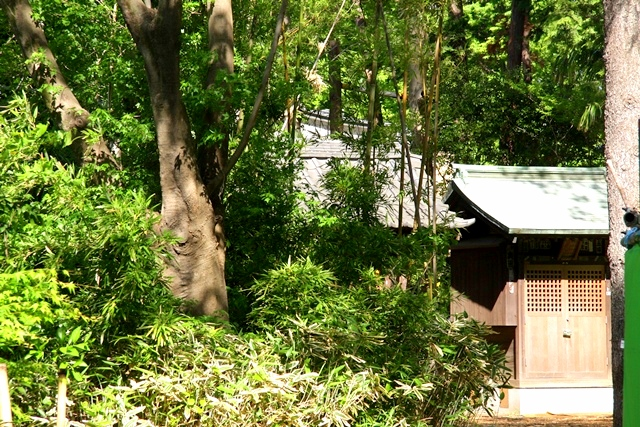石神井氷川神社の末社