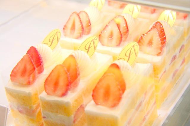 アブルームの苺ショートケーキ