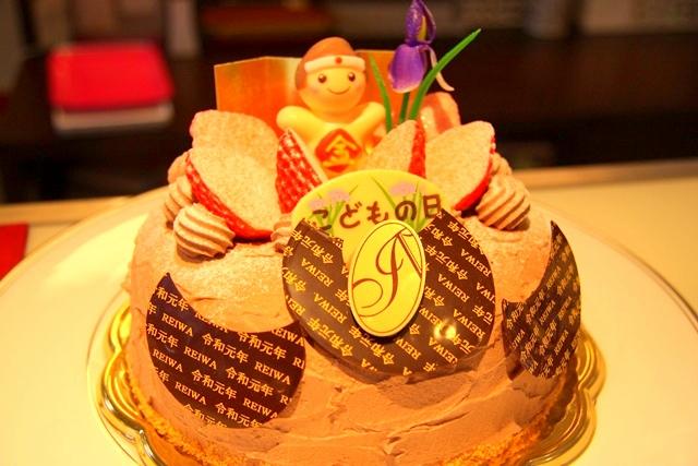 アブルームのデコレーションケーキ