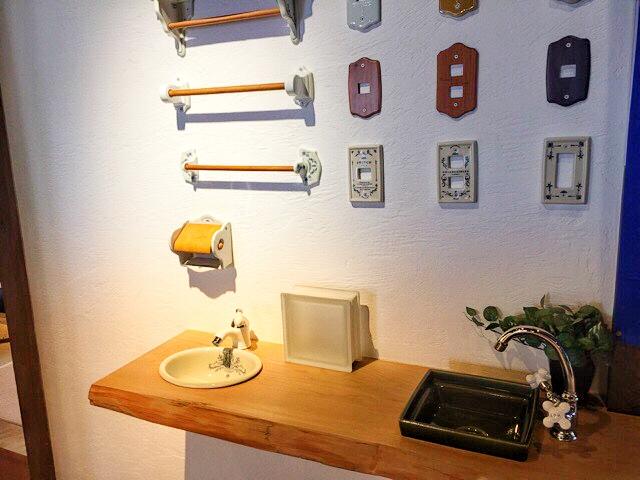 小林工務店は、洗面台など造作も可能。