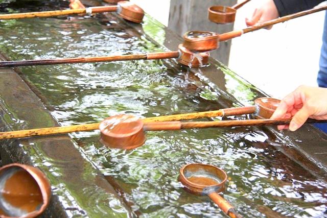 鎌倉大仏「高徳院」の手水舎