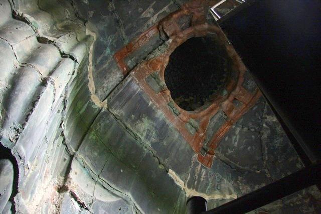 鎌倉大仏像の中