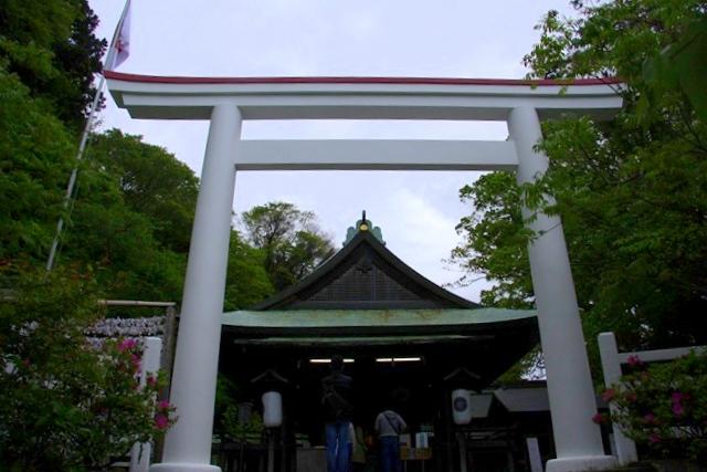 鎌倉宮参拝