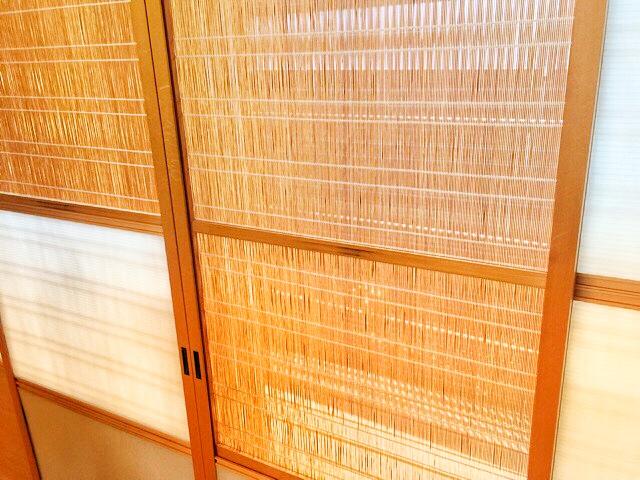 小林工務店の住宅展示場和室は、光と風を調節できる建具がついています