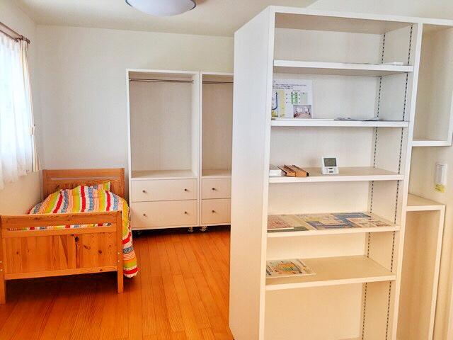 小林工務店の住宅展示場、子供部屋