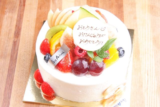 シェ・アオタニのデコレーションケーキ