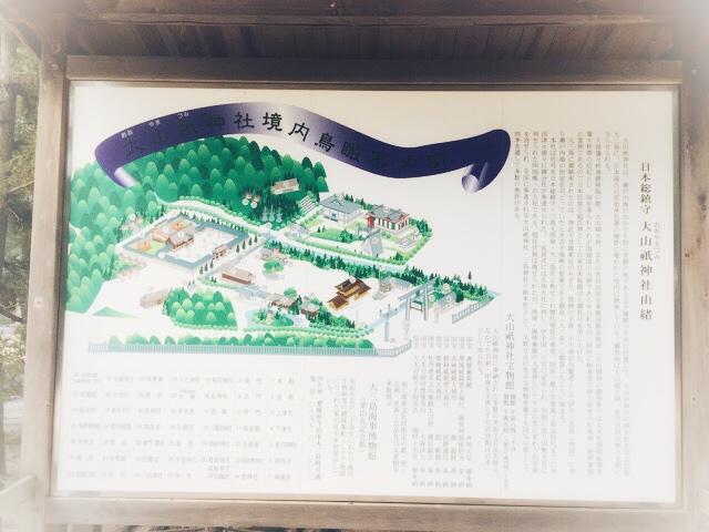大山祗神社由緒