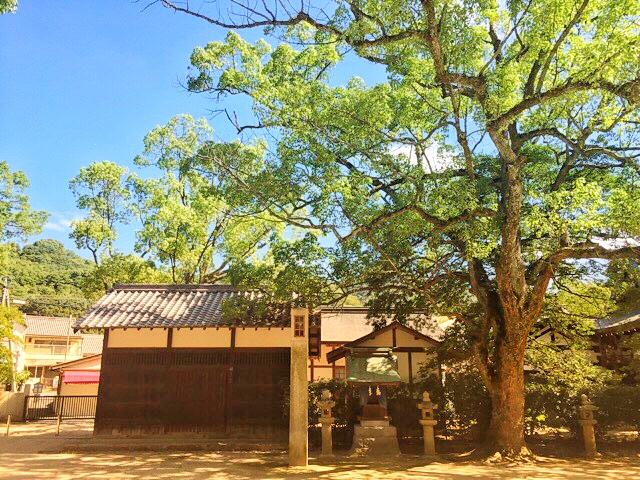 大山祗神社、馬神社と神馬舎