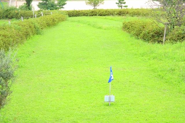 マキノピックランドのパターゴルフ
