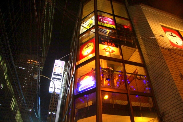 バーラジルは大一梅田ビル2F にあります。