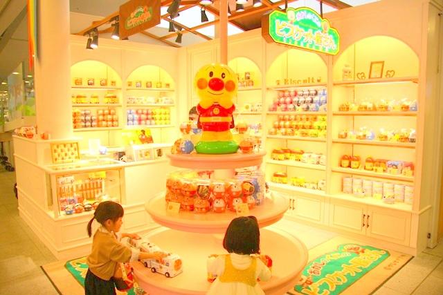神戸アンパンマンミュージアム&モールのおかしのくにのビスケット屋さん