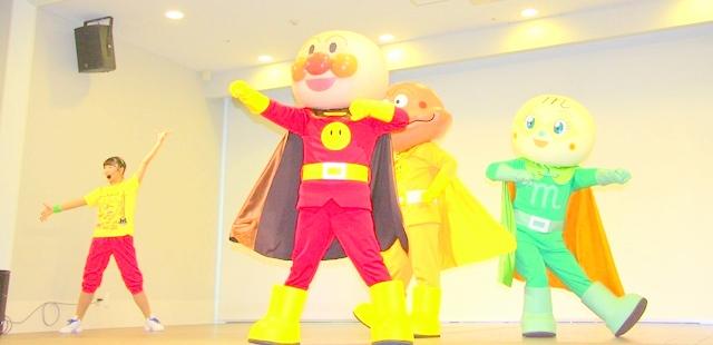 神戸アンパンマンミュージアム&モールで開催されるイベント「神戸だんす!だんす!ミュージアム」