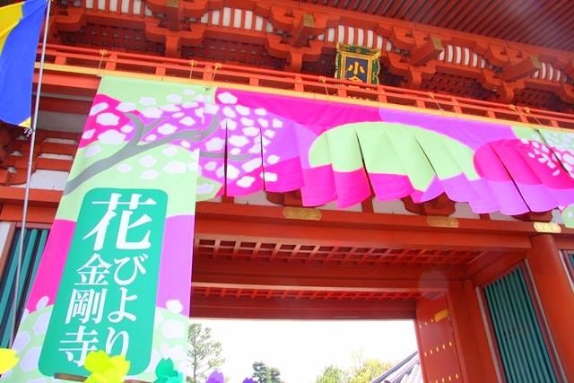 花びより会場の金剛寺