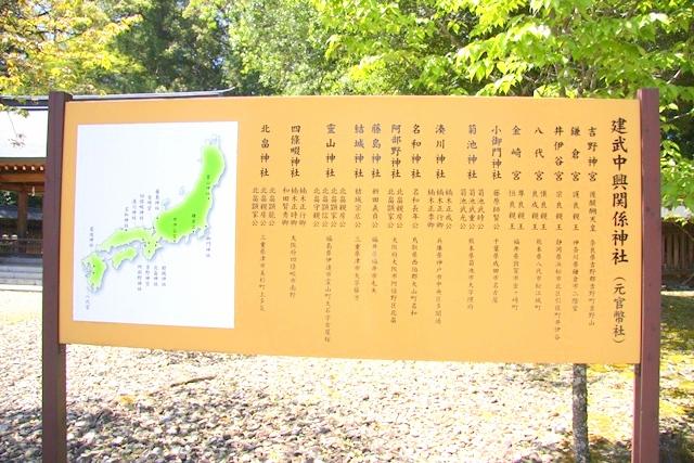 吉野神宮の建武中興関係神社