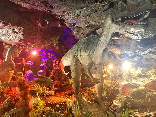 小原洞窟恐竜ランド