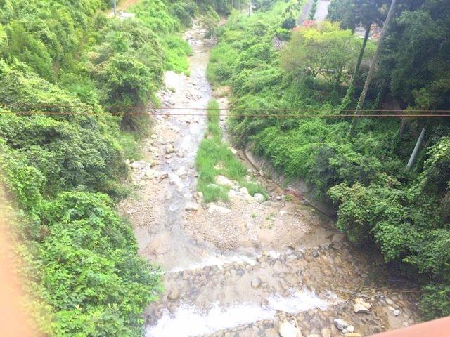 本谷公園の川