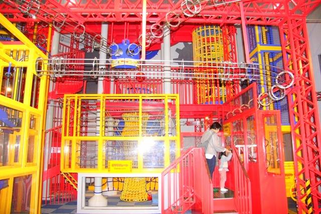福知山市児童科学館内にある力のダイナミックタワー