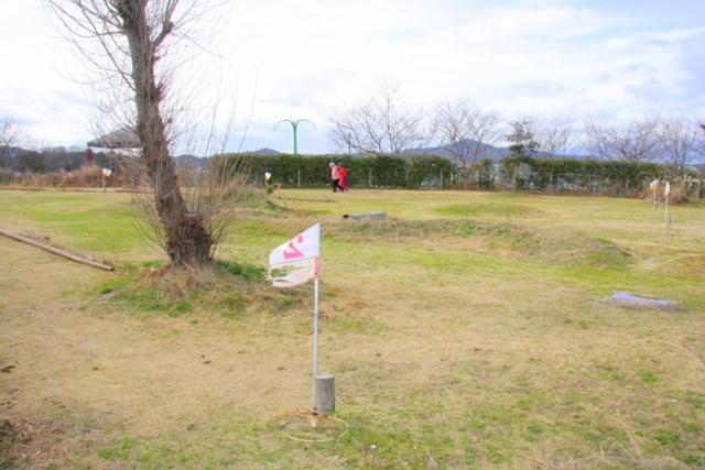 アグリパーク竜王のグラウンド・ゴルフ場