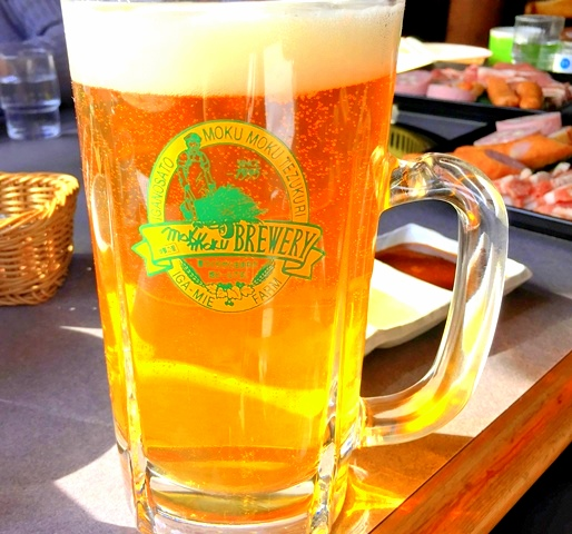 モクモクファーム地ビール