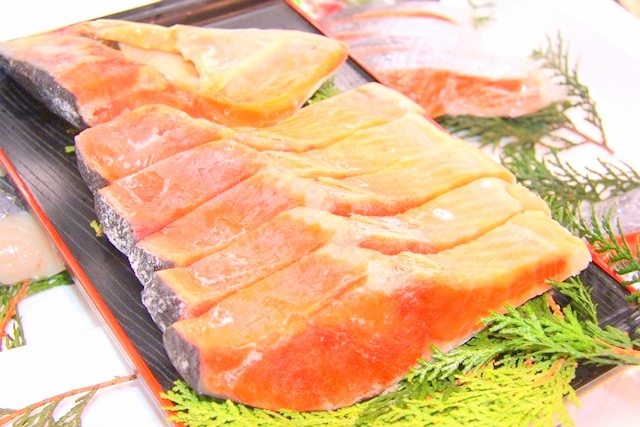 伊勢屋の本紅鮭