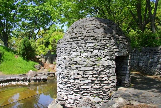 花博記念公園鶴見緑地 山のエリア、国際庭園のアイルランド庭園