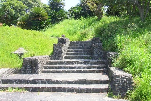 花博記念公園鶴見緑地 山のエリア、国際庭園のインドネシア庭園