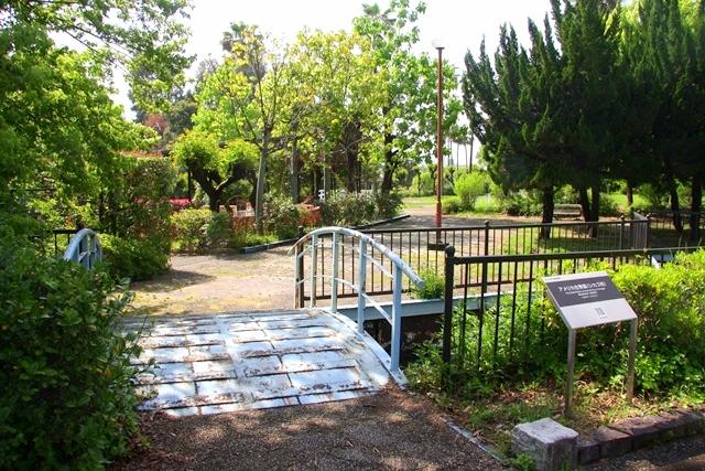 花博記念公園鶴見緑地 山のエリア、国際庭園のシカゴ庭園